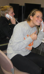 Clemson Student-Athletes Participate in Thank-a-Thon