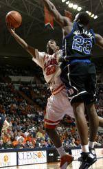 Clemson Men's Basketball Team Defeats Carson-Newman 86-45 In Exhibition Play