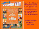 SAAC and Schilletter Dining Hall to Host Schilletter Night 2009 on Thursday, October 22