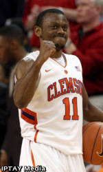 Young Threes in Overtime Rally Tigers Past NC State