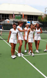 Women's Tennis Completes Saturday Action At Wilson/ITA Southeast Regional