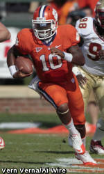 Tajh Boyd Earns Second Straight Manning Player of the Week Honor