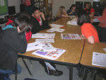 Solid Orange Squad Kicks Off T.I.G.E.R.! Talk Program at West Oak Middle School