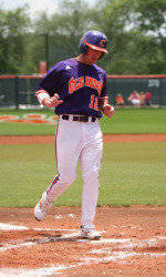 #22 Clemson Outlasts Blue Hose 8-2 Tuesday