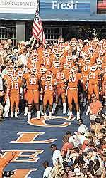 Clemson Averages More Than 80,000 Per Game In Attendance For 2001