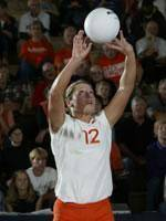 Volleyball Team To Play Host To Clemson Invitational This Weekend