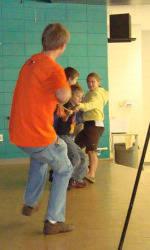 Solid Orange Squad Visits Beech Springs Intermediate School