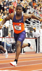 Ford Captures 100m Dash, Leads Clemson at ACC Outdoor Championships