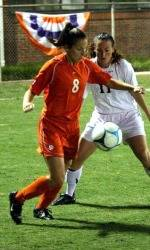 Clemson Women's Soccer Team Defeats Charleston Southern in Exhibition Game