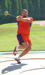 Throwers Lead Tiger Track & Field on Day One at ACC Outdoor Championships