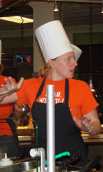 Student-Athlete Advisory Committee Holds Tigers in the Kitchen Event