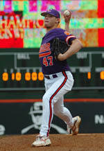 #9 Clemson Completes Sweep With 7-3 Win Over Hokies Sunday
