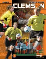 2007 Clemson Women's Soccer Media Guide