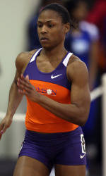 Edgerson, Sinkler Lead Tiger Track & Field Teams on Day One at Clemson Invitational