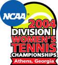 2004 NCAA Women's Tennis Regional Information