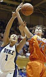 Clemson Falls To Top-Ranked Duke, 69-53