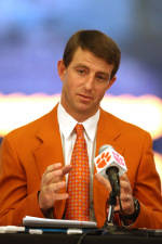 Watch Coach Swinney's Press Conference Live on All-Access Monday at 10:30 AM