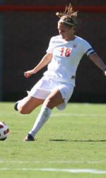 Clemson Women's Soccer Team Falls to #3 North Carolina at Historic Riggs Field Thursday Night