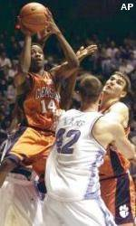 Tigers Fall To North Carolina, 96-78