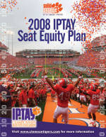Clemson 2008 IPTAY Memorial Stadium Seat Equity Plan Announced