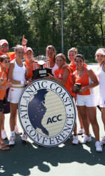 Tigers Crowned ACC Women's Tennis Champions
