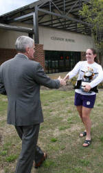 Photo Gallery: 2009 ACC Champion Rowing Team Returns to Clemson