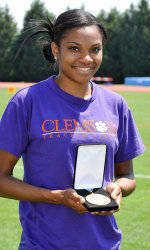 Clemson Track & Field Feature: April Sinkler