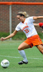 Clemson Women's Soccer Team Improves to 5-0 with Win Over Northeastern Sunday