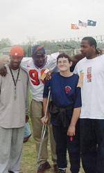 Clemson Athletes Help Out at Special Olympics