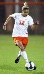 Tiger Women's Soccer Team to Play Host to #13 Maryland Thursday Night