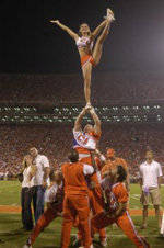 Cheerleaders & Rally Cats to Perform in Clemson Before Heading to National Competition