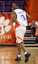 McIntyre Leads White Team Over Orange in Clemson Alumni Game