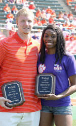 AgSouth Homegrown Athletes of the Year – Sandra Adeleye and Tanner Smith