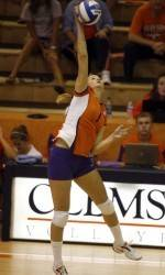 Clemson Volleyball Drops Tough ACC Tilt at Wake Forest
