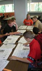 Five Middle Schools Visit Clemson University to Kick Off Tiger Talk!
