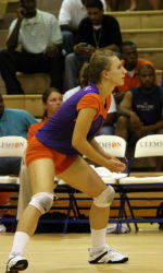 Ege Sets Freshman Single-Season Dig Record In Clemson's 3-1 Win Over Miami Sunday Afternoon