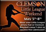 Clemson Baseball to Host Little League and Clemson Baseball Camper Nights