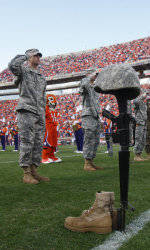 Clemson Football Game Program Feature: Clemson's Military Heritage