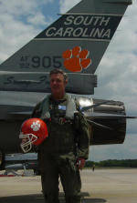 Air Bowden: Football Coach Takes Flight in F-16