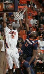 Clemson Men's Basketball Feature: Raymond Sykes