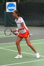 Women's Tennis Posts 6-1 Win Over Maryland On Saturday