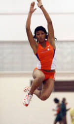Lady Tigers Remain in Eighth Place at ACC Indoor Championships