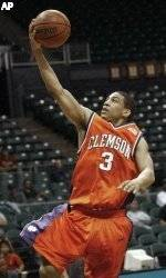 Clemson Rebounds For 83-57 Win Over Indiana State