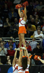 Spirit Squads to Hold Exhibition April 6, Prior to National Competition