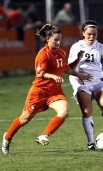 #19 Lady Tiger Soccer Team Ties Virginia Tech 1-1 in Blacksburg, VA Thursday Night