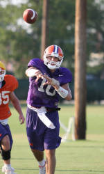 Clemson Holds First Scrimmage