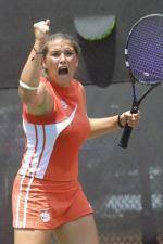 Women's Tennis Hold Final Solid Orange…One Clemson Event of the 2004-05 Season