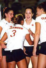 Clemson Volleyball Drops Season Opener To #7 Nebraska