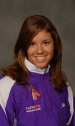 Clemson's Parkhurst Named ACC's Most Valuable Swimmer