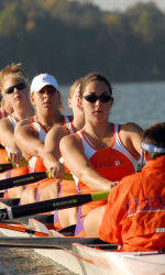 Tiger Rowing Provides Good Showing at Head of the Hooch